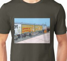 coney island shrimp and chicken Unisex T-Shirt