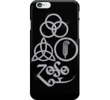 ANCIENT PAGAN ELEMENTS SYMBOLS (L) - diamonds are forever (silver) NEW iPhone Case/Skin