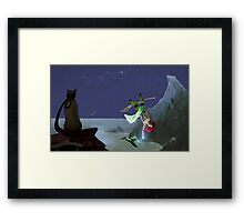 Clumsy Witch Framed Print