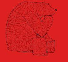 Thinking bear by David Barneda