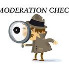 Moderation Check Banner by Jane Neill-Hancock