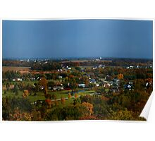 Autumn Country Side Poster