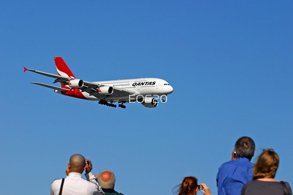Qantas A380  by EOS20