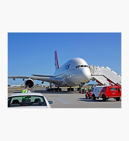 Parked A380  Photographic Print
