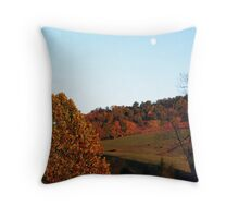 Across the Road Throw Pillow
