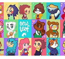 Animal Crossing: New Leaf by honeytiger