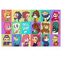 Animal Crossing: New Leaf Photographic Print