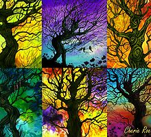 Tree of Life Collage by Cherie Roe Dirksen