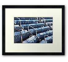 Where are the Fans! Framed Print