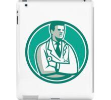 Doctor Stethoscope Standing Circle Retro iPad Case/Skin
