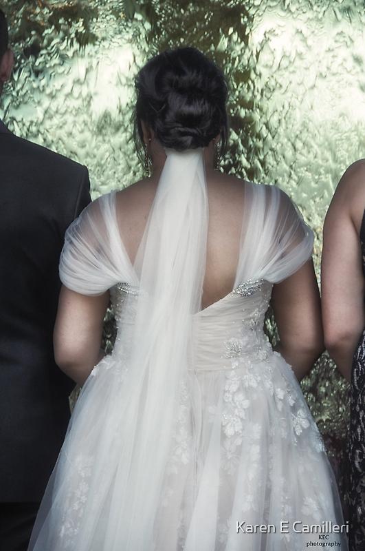 Wedding Gown  by Karen E Camilleri