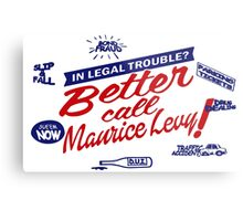 Better call Maurice Levy - (The Wire) Metal Print