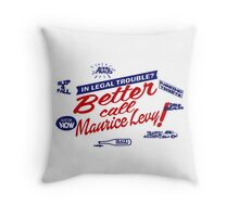 Better call Maurice Levy - (The Wire) Throw Pillow