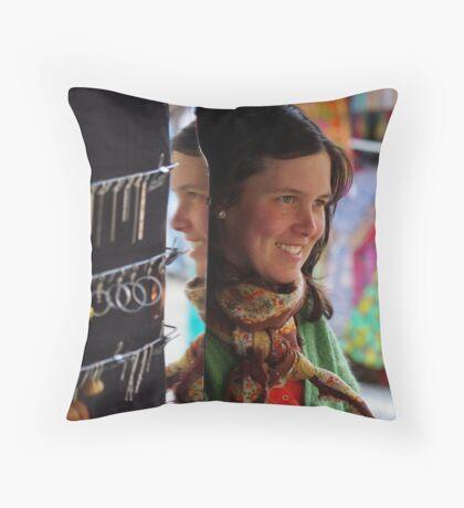 Goldsmith Throw Pillow