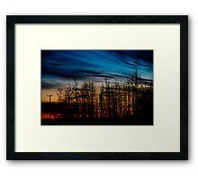 Oct 13th Sunrise Framed Print