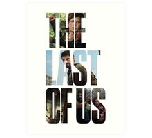 Tlou (collage) Art Print