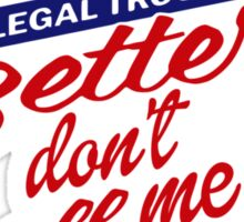 Better don't call me Sticker