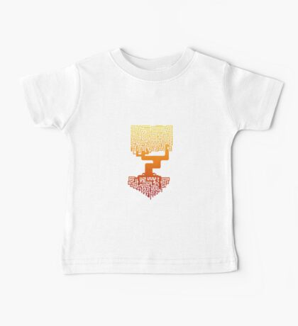 Tree Labyrinth Baby Tee