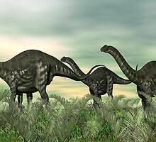 Apatosaurus by Walter Colvin