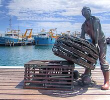 Fishing Harbour Fremantle WA - HDR by Colin  Williams Photography