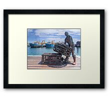 Fishing Harbour Fremantle WA - HDR Framed Print