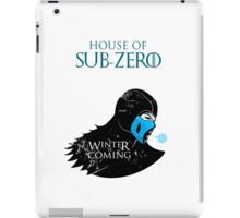 House of Sub-Zero iPad Case/Skin