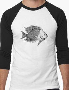Tropical Fish Men's Baseball ¾ T-Shirt