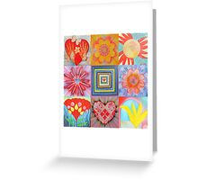 """ THE 6 PERFECTIONS "" Greeting Card"