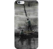 On the Lake in Cambodia iPhone Case/Skin