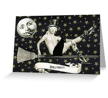 Halloween - Alizee and Ouija Greeting Card