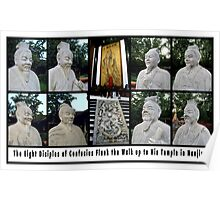 The Eight Diciples of Confucius in Nanjing Poster