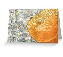 Fish City IV Greeting Card