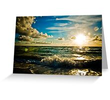 the Glory of Sunrise Greeting Card