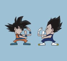 Goku vs Vegeta Kids Tee