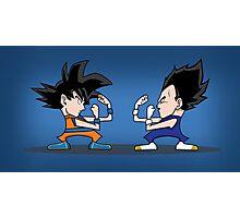 Goku vs Vegeta Photographic Print