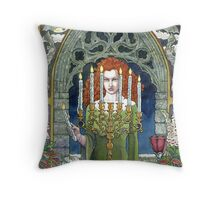 A Spell Nearly Complete Throw Pillow