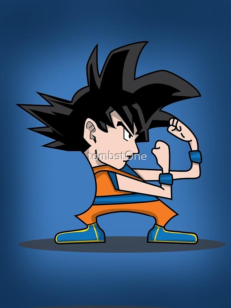 Irish Goku by tombst0ne
