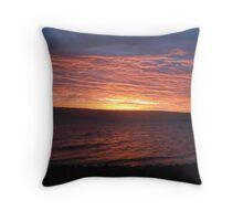 Sunset Madagascar Throw Pillow