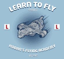 Learn to Fly Kids Clothes