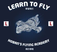 Learn to Fly Kids Tee