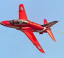Red Arrows Hawk T.1 with anniversary paint job by Colin Smedley