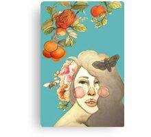 Darlin' Clementine Canvas Print