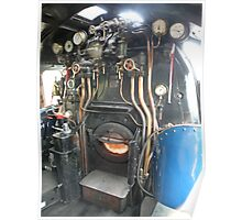 A4 Footplate Poster