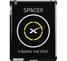 SpaceX: X Marks The Spot iPad Case/Skin