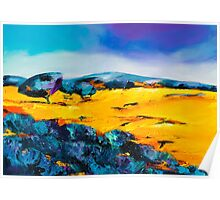 Provencal countryside Poster