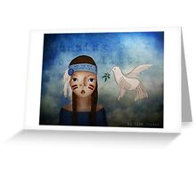 Little White Dove Greeting Card