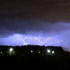 Lightning strikes by Karl Soulos