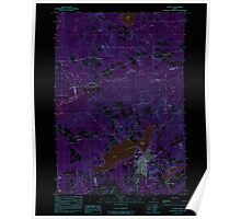 Maine USGS Historical Map Dexter 105076 1984 24000 Inversion Poster
