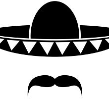 Sombrero with a beard from Mexico by muli84