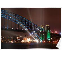 Sydney Harbour Bridge 75th Anniversary Poster